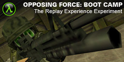 The Replay Experience Experiment: Half-Life: Opposing Force boot-camp