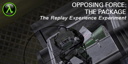 The Replay Experience Experiment: Half-Life: Opposing Force: The Package