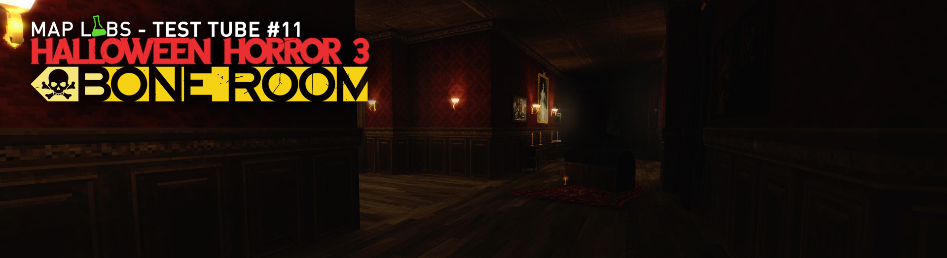 Halloween Horror 3: Bone Room - Map Labs Test Tube #11