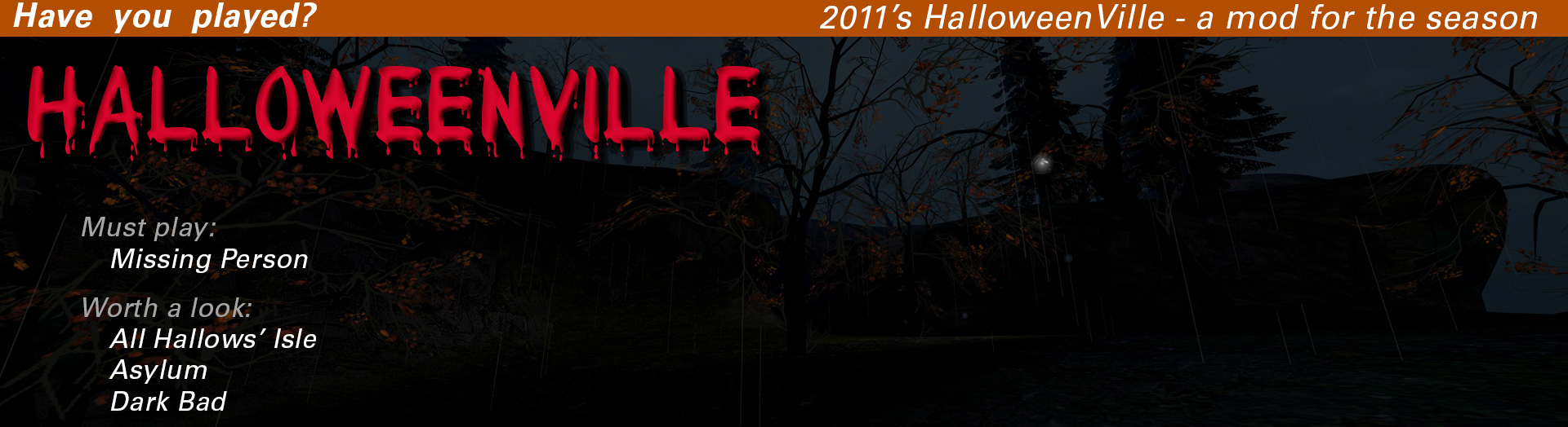 Have you played HalloweenVille?